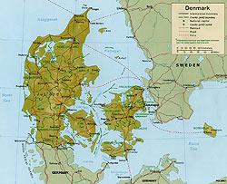 Harta  Danemarca