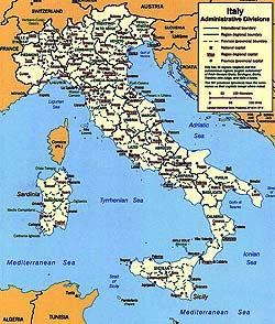 Harta Italia Harta Italiei Informatii Harta Rutiera Harti