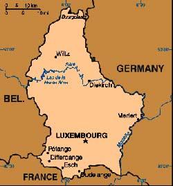 Harta Luxemburg Harta Luxemburg Ului Informatii Harta Rutiera